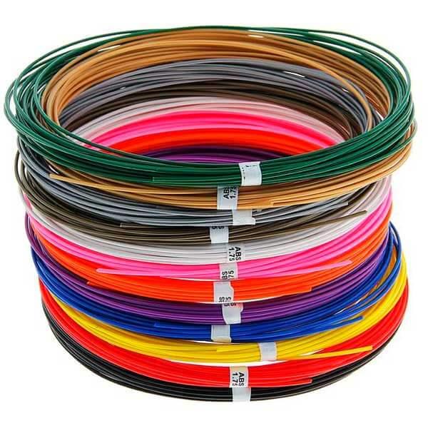 готовый набор 12 цветов ABS